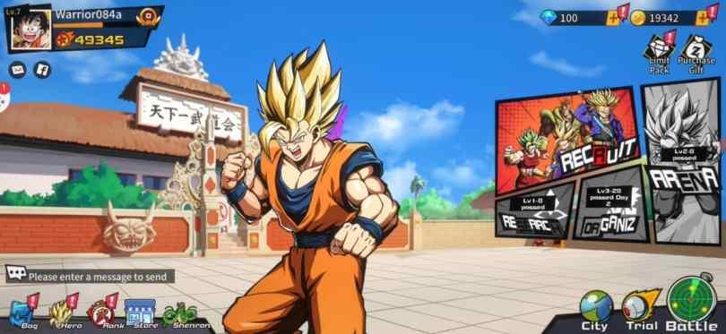 Super Fighters The Legend of Shenron apk+Obb download