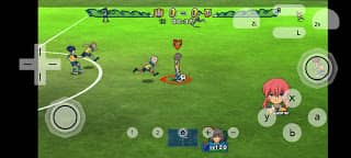 Inazuma Eleven Go Strikers 2013 Android ppsspp