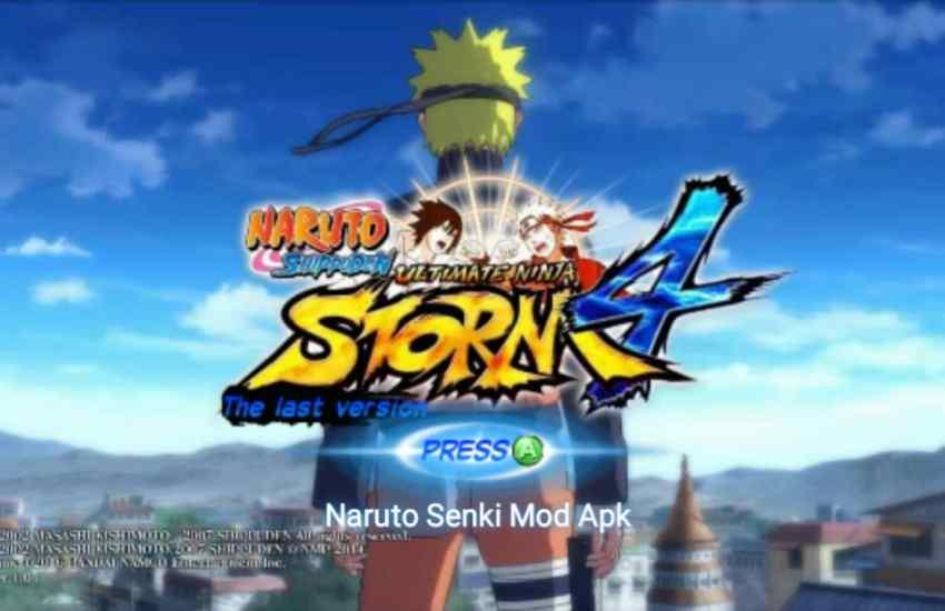 Naruto Senki Storm 4 Mod