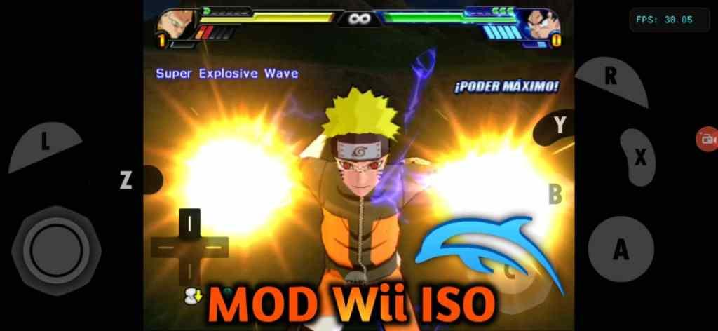 DBZ Budokai Tenkaichi 3 Mod Wii ISO Download