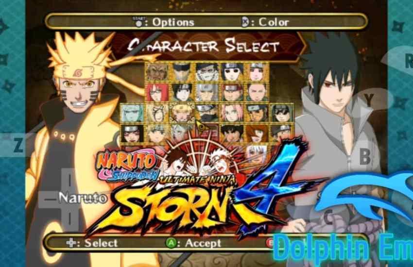 Naruto Shippuden Clash of Ninja Revolution 3 Mod Storm 4
