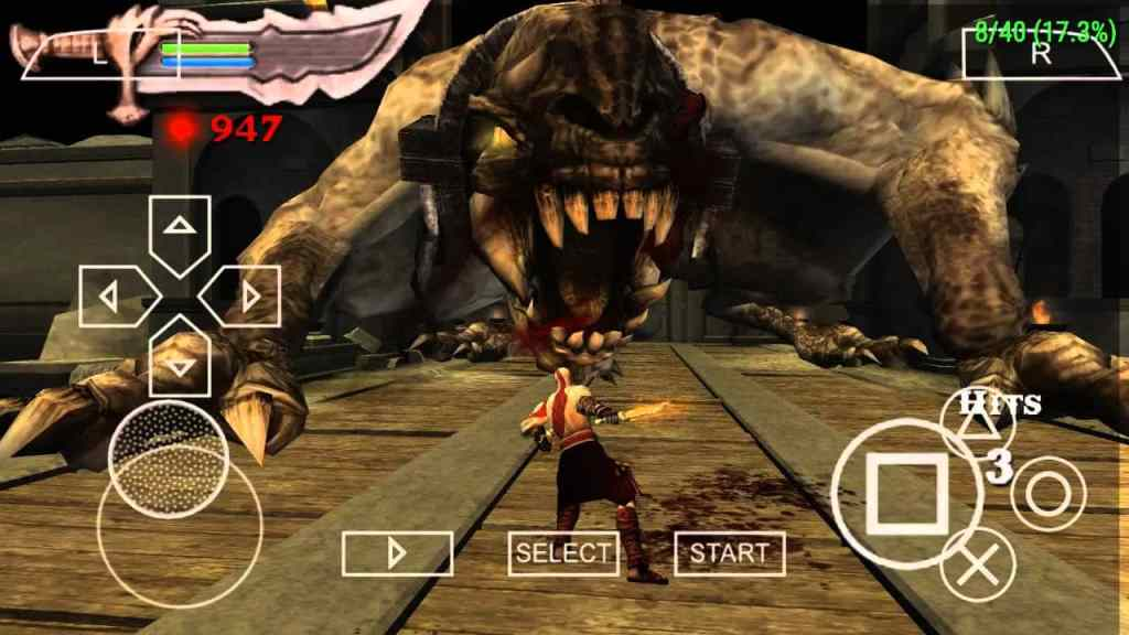 God Of War 3 PPSSPP ISO