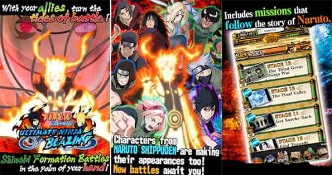 Naruto Blazing Mod Apk Ultimate Pearls