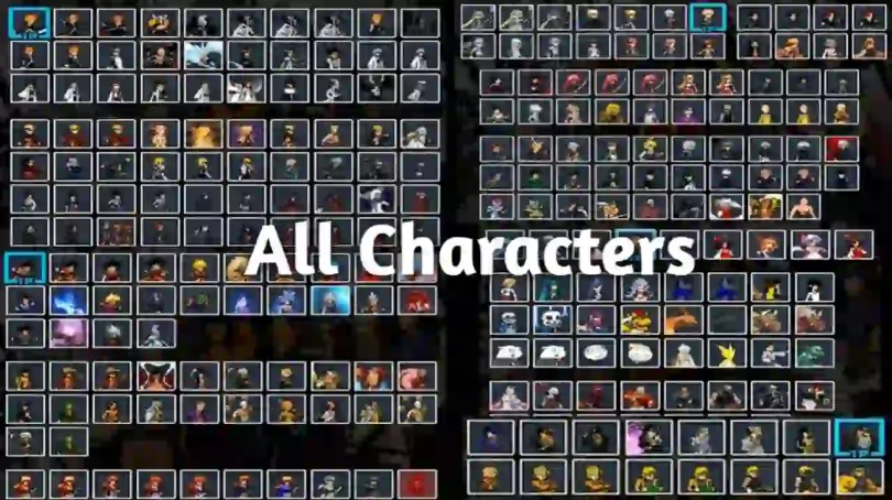 Jump Force Mugen all Characters