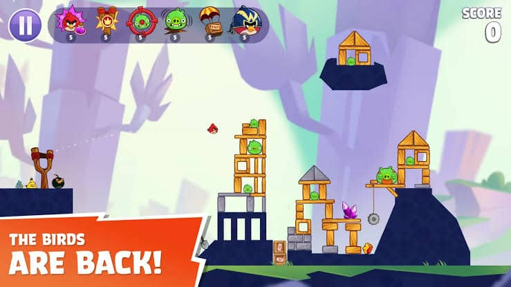 Angry Birds Reloaded gameplay