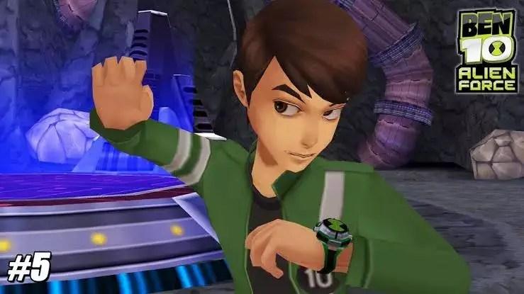 Ben 10 Alien Force PSP Game Download
