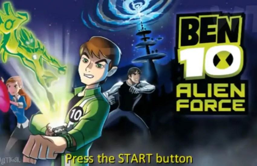 Ben 10 Alien Force Game Download