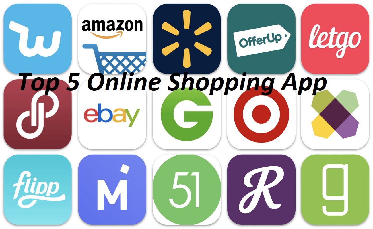 Top 5 Online Shopping App
