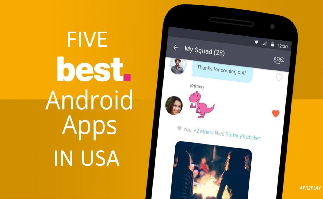 Top Five Trending Android Apps