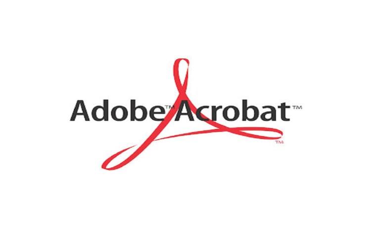 Screenshot of Adobe