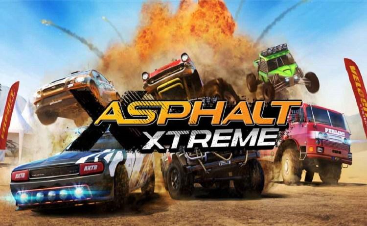 Screenshot of Asphalt Xtreme
