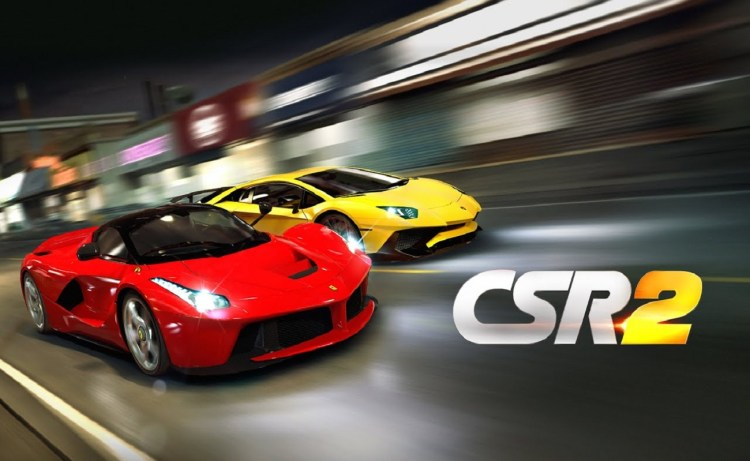 Screenshot of CSR Racing 2