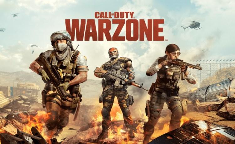 Screenshot of Call of Duty Warzone