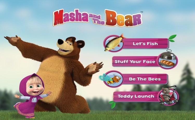 Screenshot of Masha and Bear