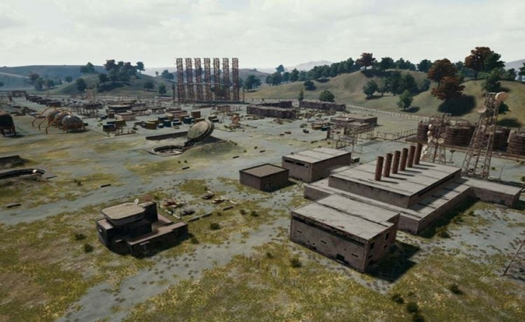 Screenshot of Military Base