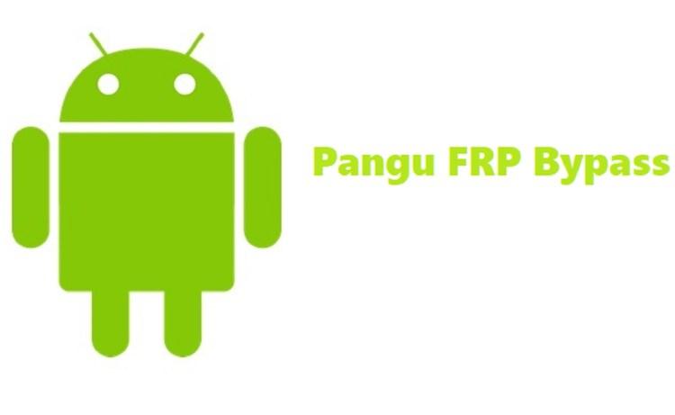 Screenshot of Pangu FRP Bypass