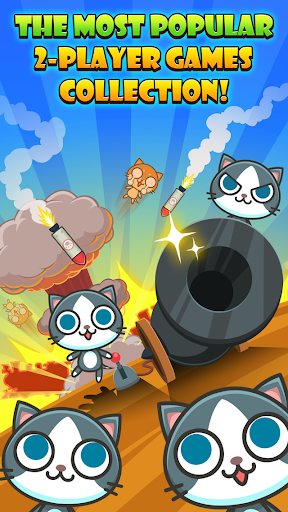 Cats Carnival - 2 Player Games mod apk