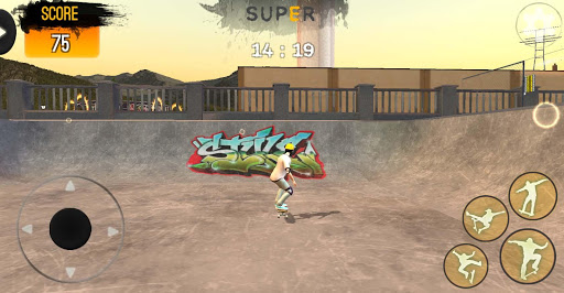 Freestyle Extreme Skater: Flippy Skate mod apk