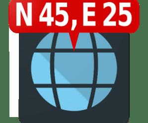 Map Coordinates v4.2.1 [Pro] [Latest]