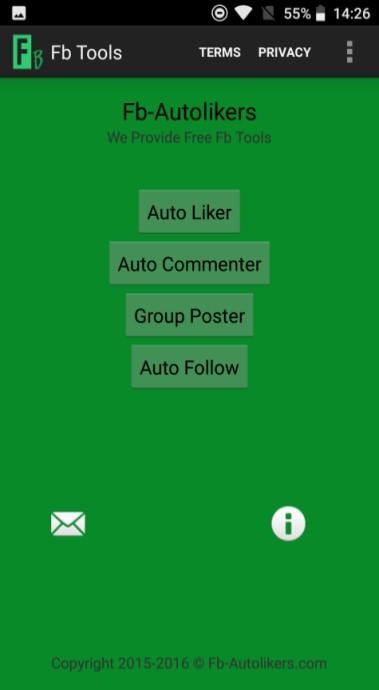 Screenshot of FB Tool Apk