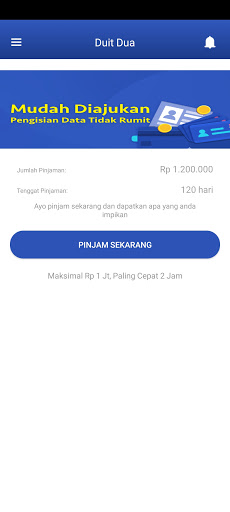 Screenshot of Duit Dua App