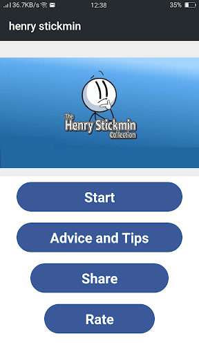 Screenshot of Henry Stickmin Collection For Android