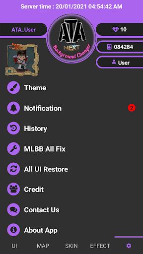 Screenshot of Ata MLBB Changer Apk