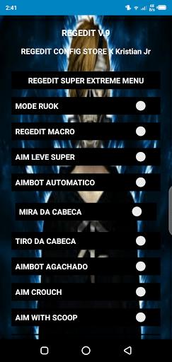 Screenshot of REGEDIT Pro FF