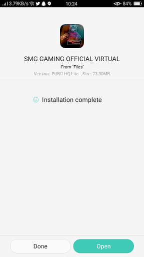 Screenshot of Android 10 Virtual