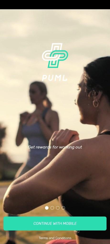 Screenshot of PUML Better Health App
