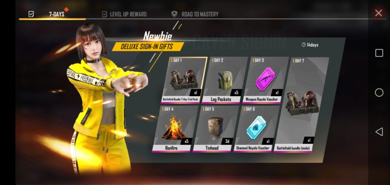 Screenshot of Mod Menu Free Fire 2021 For Android