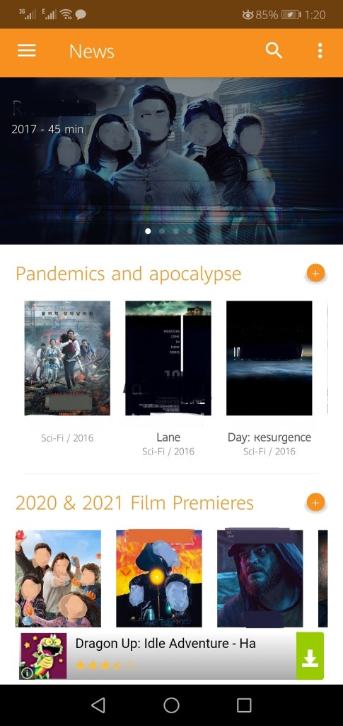 Screenshot of Pv Cine Apk 2021