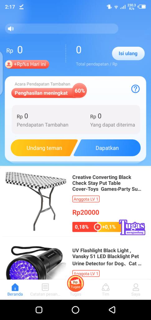 Screenshot of YouTech App