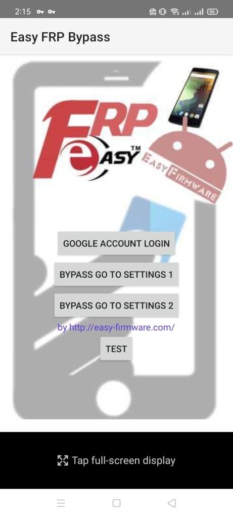 Screenshot of Easy FRP Bypass Download