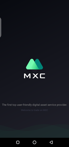 Screenshot of MXC Exchange Android