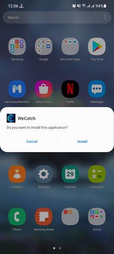 Screenshot of WeCatch Apk