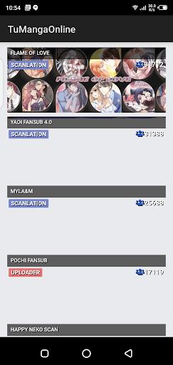 Screenshot of TuMangaOnline Apk
