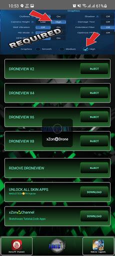 Screenshot of Xzon Drone