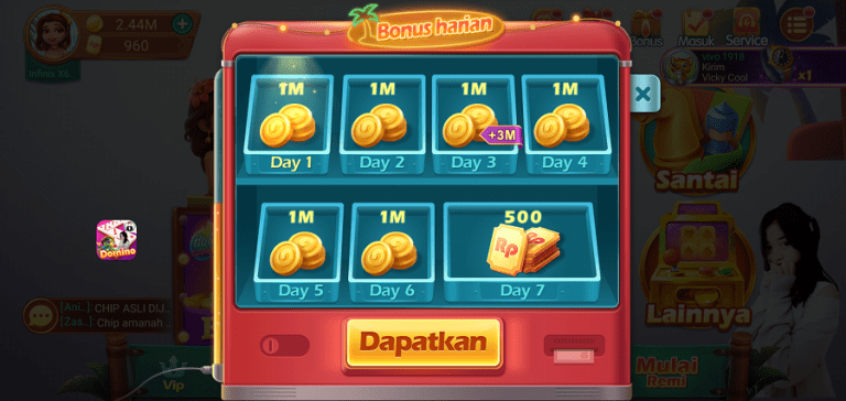 Screenshot of Domino Aceh App