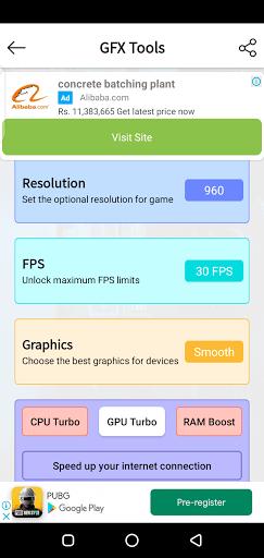 Screenshot of Headshot GFX Tool Apk