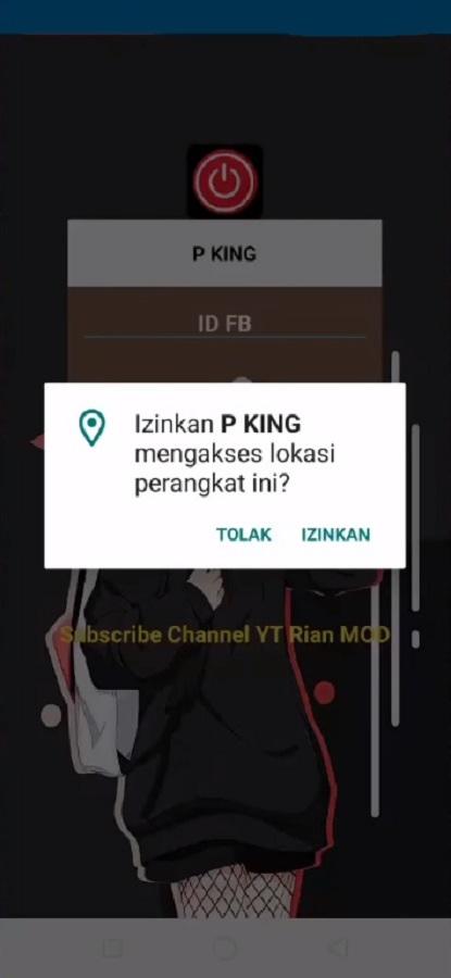 Screenshot of P King Android