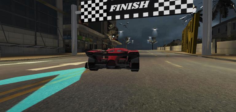 Screenshot of Racing In Car 2021 Mod Android