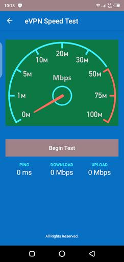 Screenshot of VPN with Iceland Server