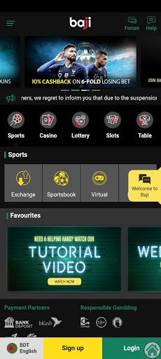 Screenshot of Baji Live App Apk