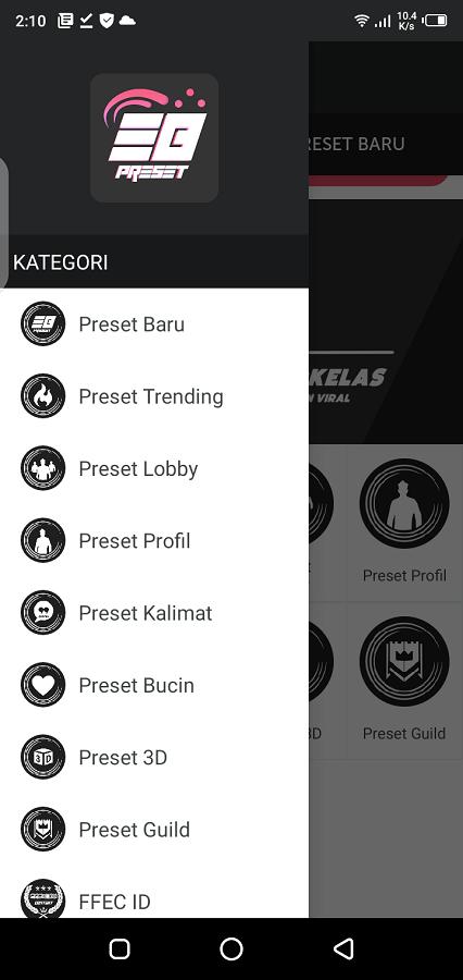 Screenshot of Editor Berkelas Android