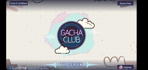 Screenshot of Gacha Cute App