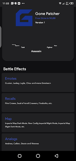Screenshot of Gone Patcher ML