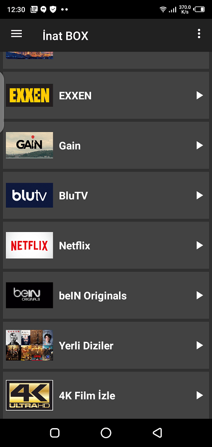Screenshot of Inat Box