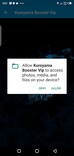 Screenshot of Kuroyama Booster VIP Download