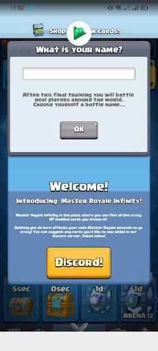 Screenshot of Master Royale Infinity Download